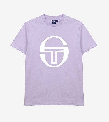 BARBORA LOGO TEE [BLOOM/PASTEL BLUE]