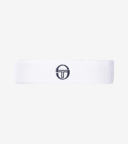 HEAD BAND [WHITE/NAVY]