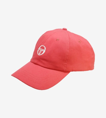 CHANG CAP [PINK YARROW/WHITE]
