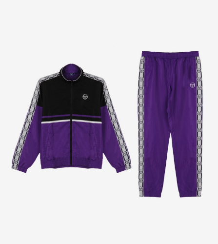 DORAL TRACK SUIT [PURPLE/BLACK]