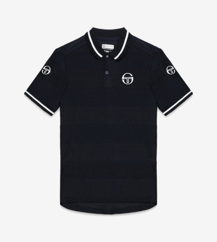 RETRO POLO_NAVY/WHITE_남성