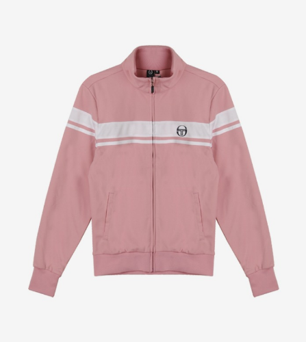 YOUNG LINE TRACK TOP [MERLOT]