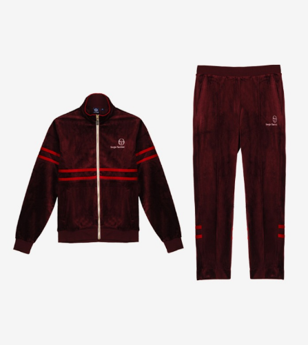 MW88 TRACK TOP + PANTS [REDISH/APPLE RED]